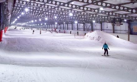 Accès de 2h aux pistes avec ou sans matériel pour enfants ou adultes dès 9 € au Snowhall