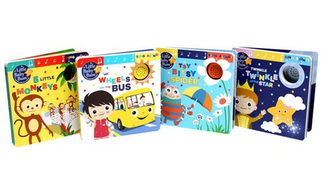 Little Baby Bum Sound Books (4-Pack)