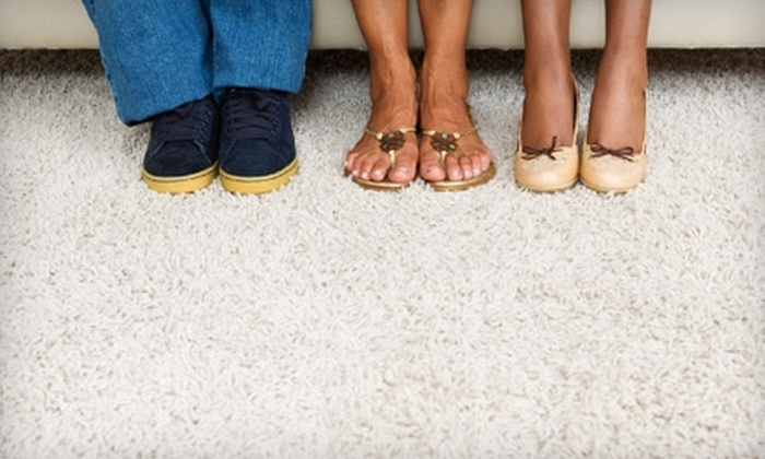Advanced Floor Care & Restoration - West Omaha: Carpet Cleaning for Up to Two or Four Rooms from Advanced Floor Care & Restoration (75% Off)