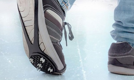 Anti-Slip Soles with Ice Cleats