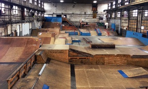 4 Seasons Skate Park: One or Five Single-Day Passes or One-Year Membership to 4 Seasons Skate Park (Up to 62% Off)