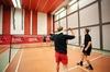 1 oder 2 Std. Badminton