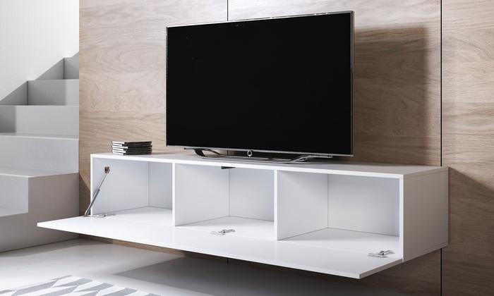 Porta Tv Pensile.Mobile Pensile Porta Tv Leiko Groupon Goods