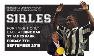 Newcastle Legends Ltd: An Evening with Les Ferdinand, 7 September at Nine Sports Bar and Lounge (Up to 78% Off)