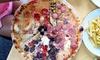 Pizza alla carta e birra media