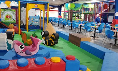 All-Day Entry to Play Centre for One or Two Children with Drink at World Of Play (Up to 42% Off)