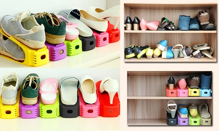 Space Saving Shoe Storage Units: Six Pack ($19.95), 12 Pack ($35) or 24 Pack ($59)