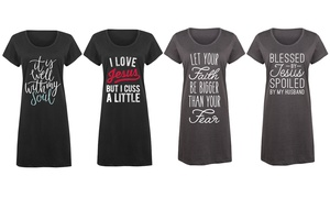 Women's Faith Sleep Tees
