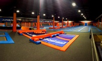 One-Hour Open Trampoline Session for One or Two at Freestyle Trampoline Parks (Up to 26% Off)