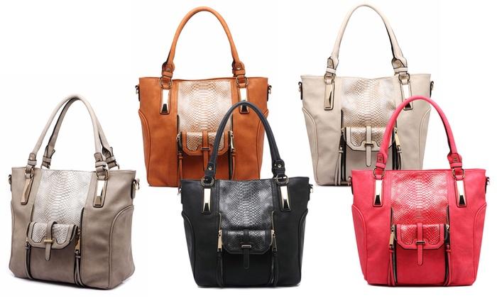 MKF Collection CharliePython Handbag