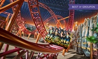 Entry, AED 50 Food Voucher and Fast Track Ticket for Adult or Child at IMG Worlds of Adventure (Up to 44% Off)