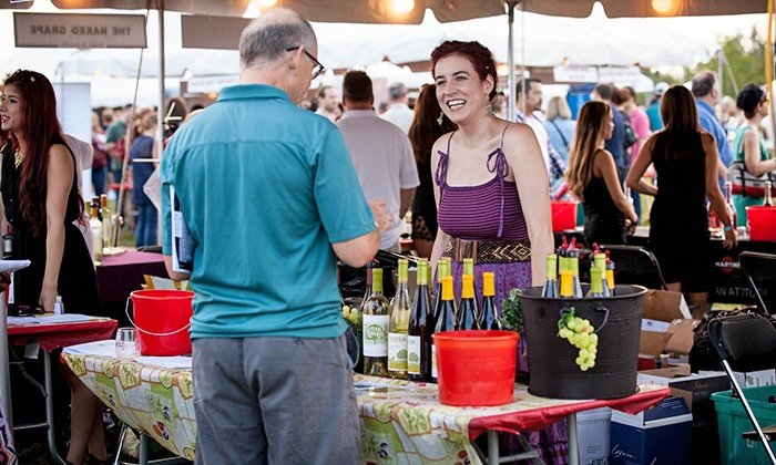 Naperville Wine Festival - CityGate Centre: Naperville Wine Festival for Two with Glass, Tastings, and Beer on August 14–15 (Up to 22% Off)