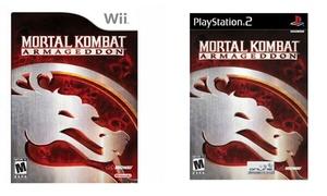 Mortal Kombat: Armageddon for Nintendo Wii and PS2