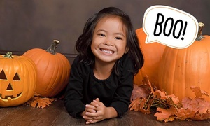 JCPenney Portrait Studio: Fall or Halloween Photo Shoot Package with Optional Digital Image at JCPenney Portraits (Up to 89% Off)