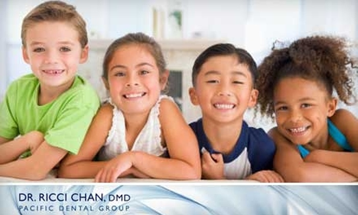 Pacific Dental Group - Ray Park: $49 for a Comprehensive Dental Exam, X-rays, and Teeth Cleaning at Pacific Dental Group in Burlingame ($367 Value)