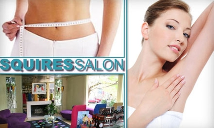 Squires Salon and Day Spa - College Hill: $25 for $60 Worth of Facials, Body Wraps, or Waxing Services at Squires Salon