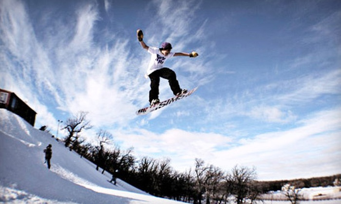 Stony Mountain Ski Area - Stony Mountain: Evening Ski Outing for Two or Discover Snowboarding Package for Two with Lessons at Stony Mountain Ski Area (Half Off)