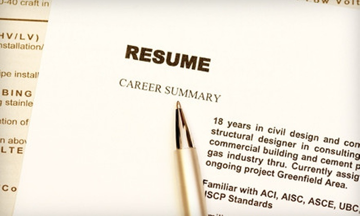 JMC Resumes, Ltd.: $85 for Professional Resumé-and-Cover-Letter Services from JMC Resumes, Ltd. ($260 Value)