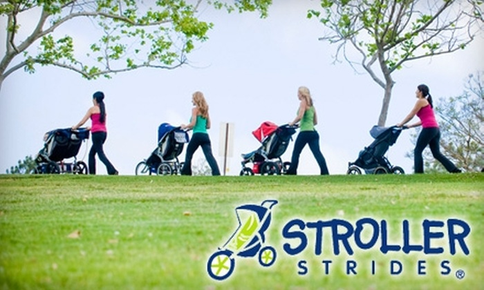 Stroller Strides - Multiple Locations: $50 for a 10-Class Pass at Stroller Strides ($110 Value)