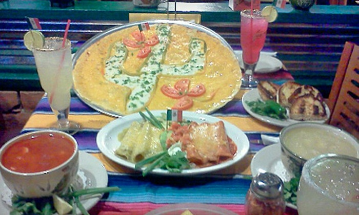 El Saguarito - Campus Farm: $25 for a Mexican Dinner and Margaritas for Two at El Saguarito (Up to $53.40 Value)