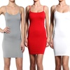 Women's Seamless Cami Slips (3-Pack)