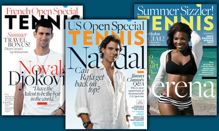 """Tennis Magazine - Fort Lauderdale: $12 for a Three-Year Subscription to """"Tennis"""" Magazine ($24 Value)"""