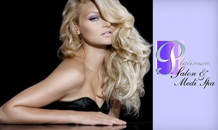 Platinum Salon & Spa - Bloomingdale: $45 for $100 Worth of Services at Platinum Salon & Spa