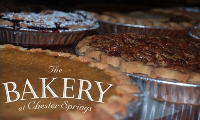 The Bakery At Chester Springs - West Vincent: $10 for $20 Worth of Cakes, Pies, and Pastries at The Bakery at Chester Springs in Glenmoore