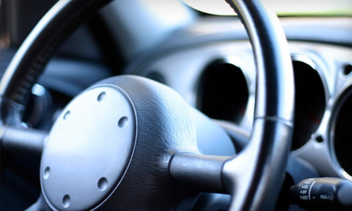 Mobile Windshield Doctor - Strathcona Industrial Park: $49 for a Spring Auto-Detail Package from Mobile Windshield Doctor ($398 Value)