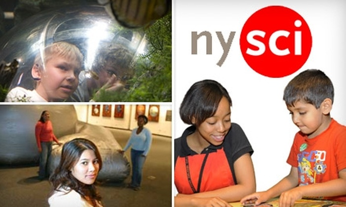 New York Hall of Science - Flushing Meadows Corona Park: $9 for General Admission, Plus a Round of Mini-Golf and Access to Science Playground, at New York Hall of Science (Up to $19 Value)