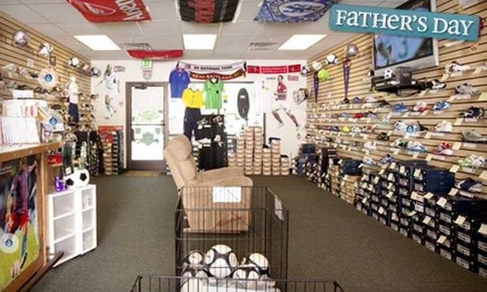Puckrin's Soccer Shop - Clearfield: $15 for $30 Worth of Soccer Equipment at Puckrin's Soccer Shop