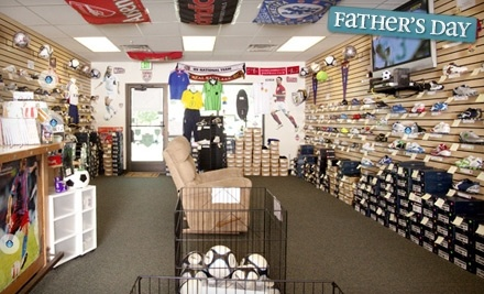 $30 Groupon to Puckrin's Soccer Shop - Puckrin's Soccer Shop in Clearfield