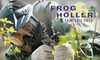 $10 for Admission & Gear at Frog Holler Paintball