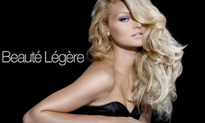 Beauté Légère - Riley Park: $29 for a Cut, Style, Deep-Conditioning Treatment, Blow-Dry, and Scalp Massage at Beauté Légère (Up to $135 Value)