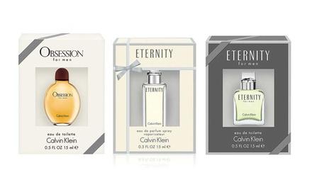 Calvin Klein Women's or Men's Fragrance Bundle