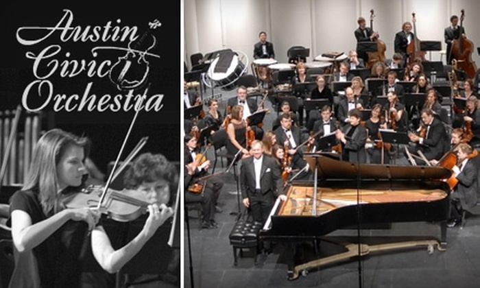 Austin Civic Orchestra - Mission Bethany: $12 for Two Tickets to the Austin Civic Orchestra's Season-Opening Fall Pops Concert on September 18 at 7:30 p.m. ($24 Value)