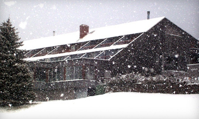 Scribner Hollow Lodge - Normanskill: Two-Night Winter Getaway for Two with Ski Passes at Scribner Hollow Lodge in Hunter (Up to Half Off). Four Options Available.