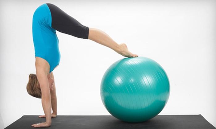 Imprint Pilates & Yoga - Downtown Toronto: $25 for Five Pilates or Yoga Classes at Imprint Pilates ($80 Value)