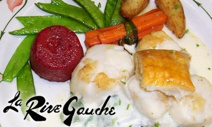 La Rive Gauche - Palos Verdes Peninsula: $20 for $40 Worth of Fine Dining at La Rive Gauche in Palos Verdes Estates