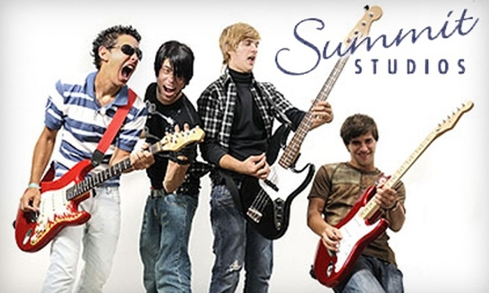 Summit Studios Performing Arts Center - Center: $15 for 30-Minute Music Lesson of Your Choice at Summit Studios Performing Arts Center ($30 Value) in Manchester