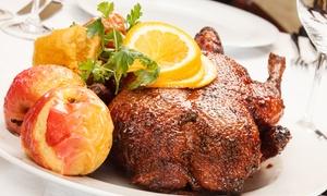 Fleischerei Löken: 3-Gänge-Gänse-Menü to go für 2 oder 4 Personen in der Fleischerei Löken (bis zu 50% sparen*)