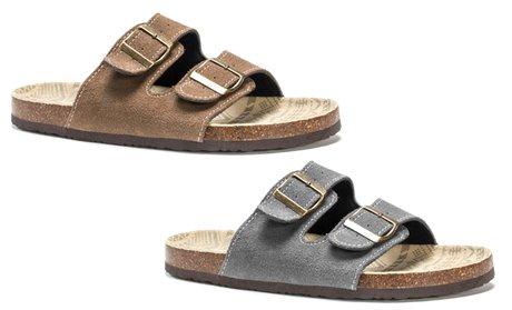 Muk Luks Men's Duo Strap Parker Sandals