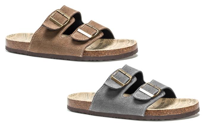 Muk Luks Men's Parker Sandals   Groupon