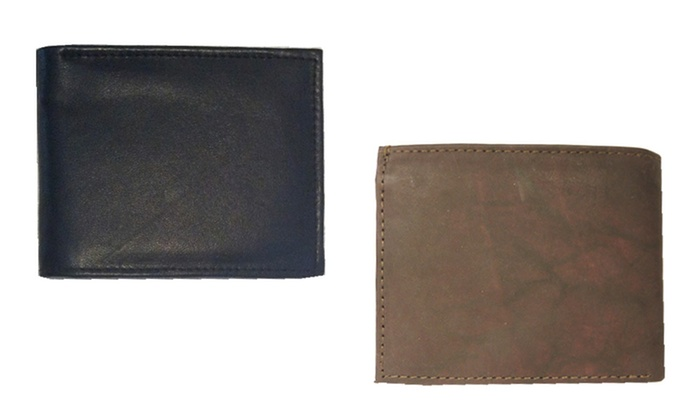 Buy 1 Get 1: Men's Leather Wallets