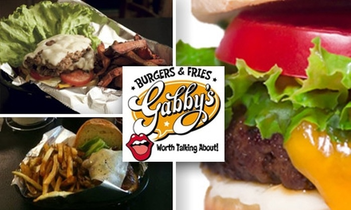 Gabby's Burgers & Fries - South Nashville: $9 for $20 Worth of High-Quality Burgers and Sides at Gabby's Burgers & Fries