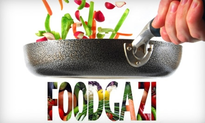 Foodgazi - Parma: $150 for a Four-Week Series of Vegetarian Cooking Classes at Foodgazi in Parma ($300 Value)