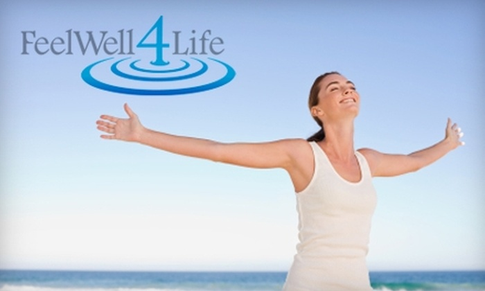 Feel Well 4 Life - Laguna Beach: $35 for Electro-Lymphatic Drainage, Colon Hydrotherapy, or Detox Massage at Feel Well 4 Life (up to $85 Value)