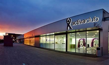 Acceso ilimitado al gimnasio durante 1 o 3 meses desde 14,95 € en 6 centros Activa Club Sport & Spa