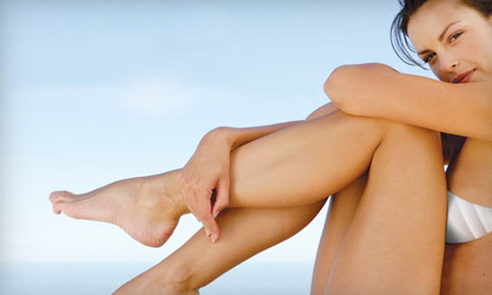 The Skin Center Medical Spa - Multiple Locations: $89 for Cosmetic Sclerotherapy Spider- or Varicose-Vein Treatment at The Skin Center Medical Spa ($410 Value)