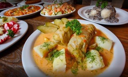 50% Cash Back at Mama Papa Lithuania Restaurant and Tea House - Up to $10 in Cash Back